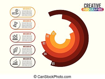 Bubble chart with elements venn diagram infographics for three infographics design vector and marketing icons can be used for workflow layout diagram annual ccuart Images