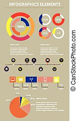 Infographics Elements. Vector Illustration. EPS10.