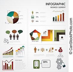 infographics, handlowy