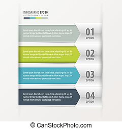 infographics, moderne, banner.