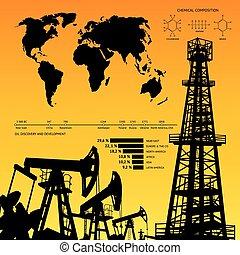 infographics., olio