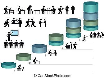 Infographics pictograms