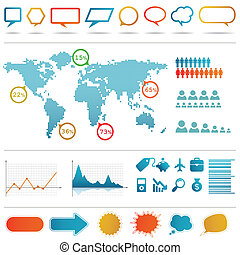 infographics, set.
