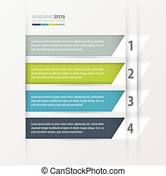 infographics, squadre, inclinato, moderno, banner.