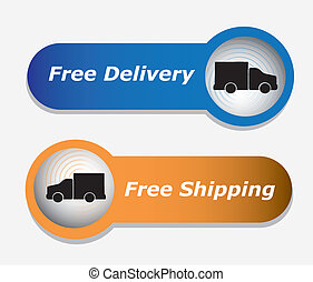 infographics transport truck over white background vector...