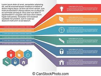 infographics., vector, ilustración