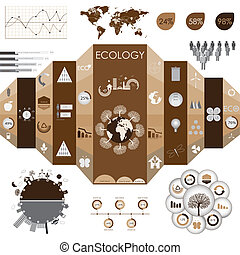 információs anyag, grafika, ökológia