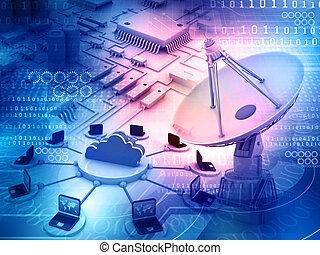 informática, plano de fondo
