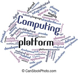 informática, plataforma