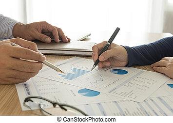 informação, análise financeira
