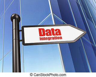informação, concept:, dados, integração, ligado, predios, fundo