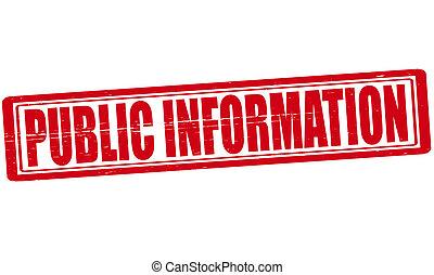 informação, público