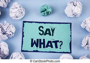 informação, que, conceito, attonishment, negócio, expression...