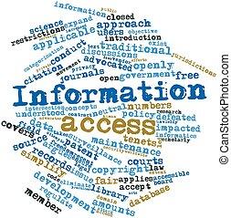 información, acceso