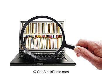 información, búsqueda