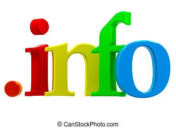 información, dominio