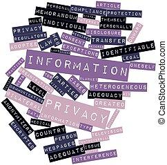 información, intimidad