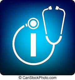 información, médico