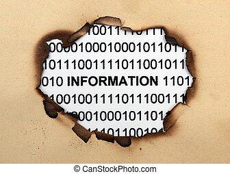 informacja, dane