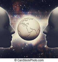 informacja, desig, pojęcie, abstrakcyjny, tła, społeczeństwo, twój