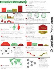 informacja, ilustracja, graficzny, wektor