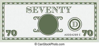 informacja, image., przestrzeń, pieniądze, halabarda, tekst, siedemdziesiąt, dodać, twój