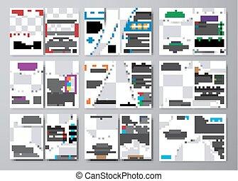 informacja, komplet, przestrzeń, wielki, fotografie, lotnicy, biały