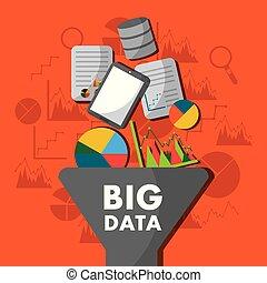 informacja, proces, cielna, analiza, filtr, dane