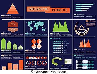 informacja, szczegół, illustra, graficzny, wektor