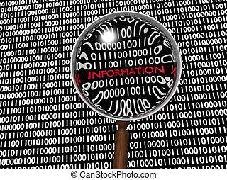 informacja, ukryty, numeric