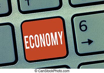 informatie bestuur, financieel, zakelijk, foto, het tonen, economy., schrijvende , conceptueel, analyse, showcasing, boekhouding, hand, middelen