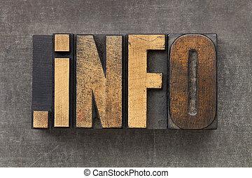 informatie, domein, middelen, internet