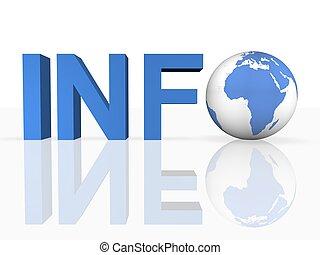 informatie, internet onderzoek