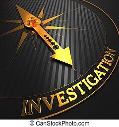 informatie, investigation., achtergrond.