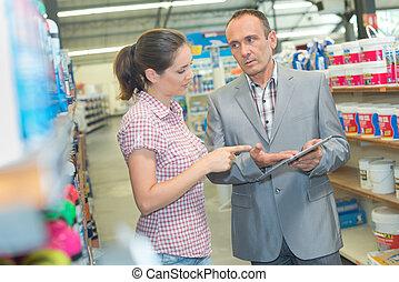 informatie, product, vertegenwoordiger