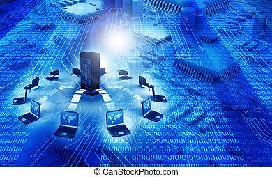 informatie technologie, achtergrond