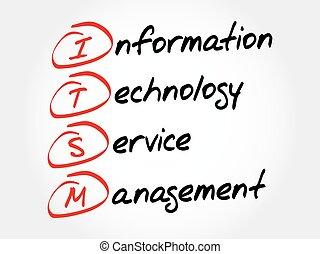 informatie technologie, dienst, management
