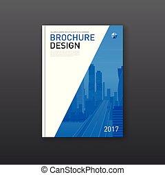 informatieboekje , ontwerp, dekking, collectief, layout.