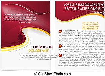 informatieboekje , pagina