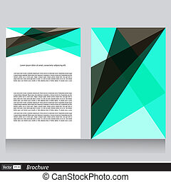 informatieboekje , tekst, vector, zakelijk, ruimte