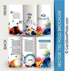 informatieboekje , tri-fold, bedrijfszaak