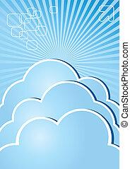 informatieboekje , wolk, internet