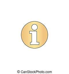 Information computer symbol