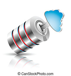 Information concept in cloud - Concept of private...