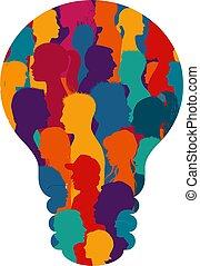 information., cultura, gente, formación, social, ...