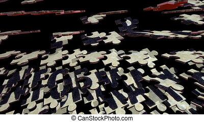 information, document, concept, top secret, puzzle
