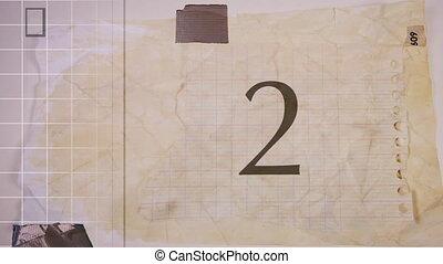 information, fait, papier, technologie, résumé, nombre, ...