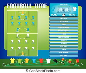 information, football, graphiques, football