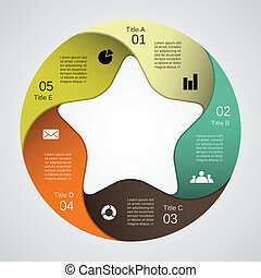 information, graphique, business, moderne, projet, vecteur