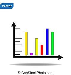 information, graphique, illustration, diagramme, vecteur, conception, gabarit